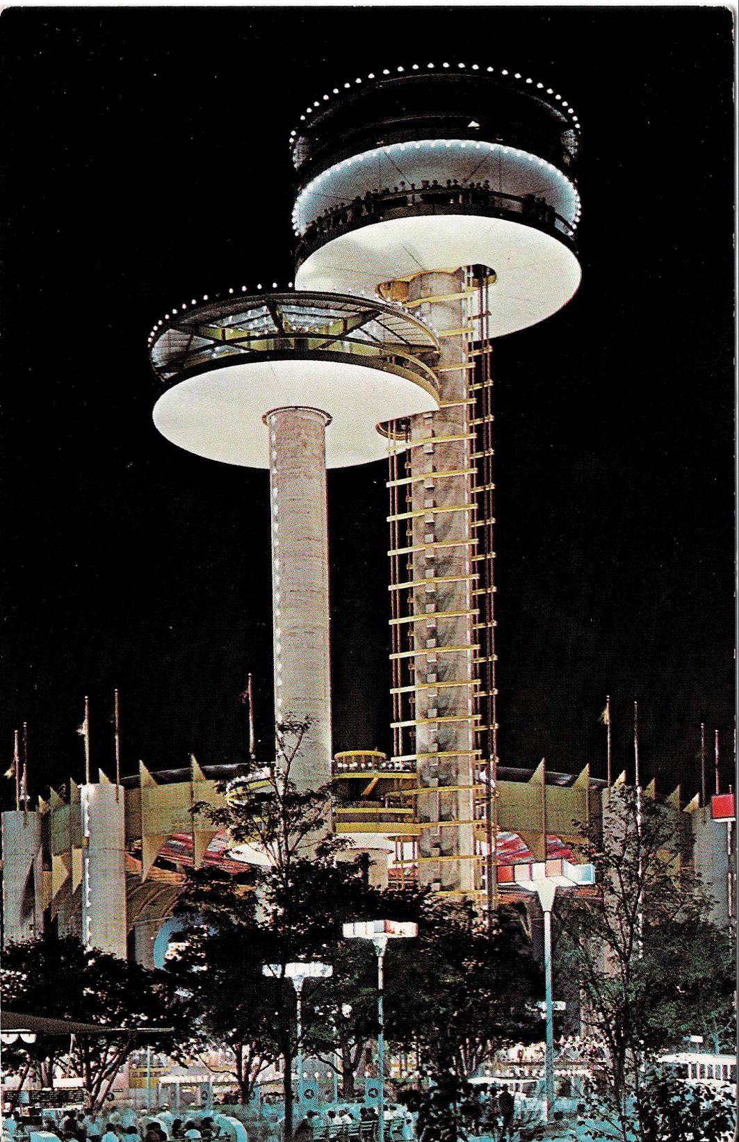 New York State Pavilion In Postcards State Amp Federal