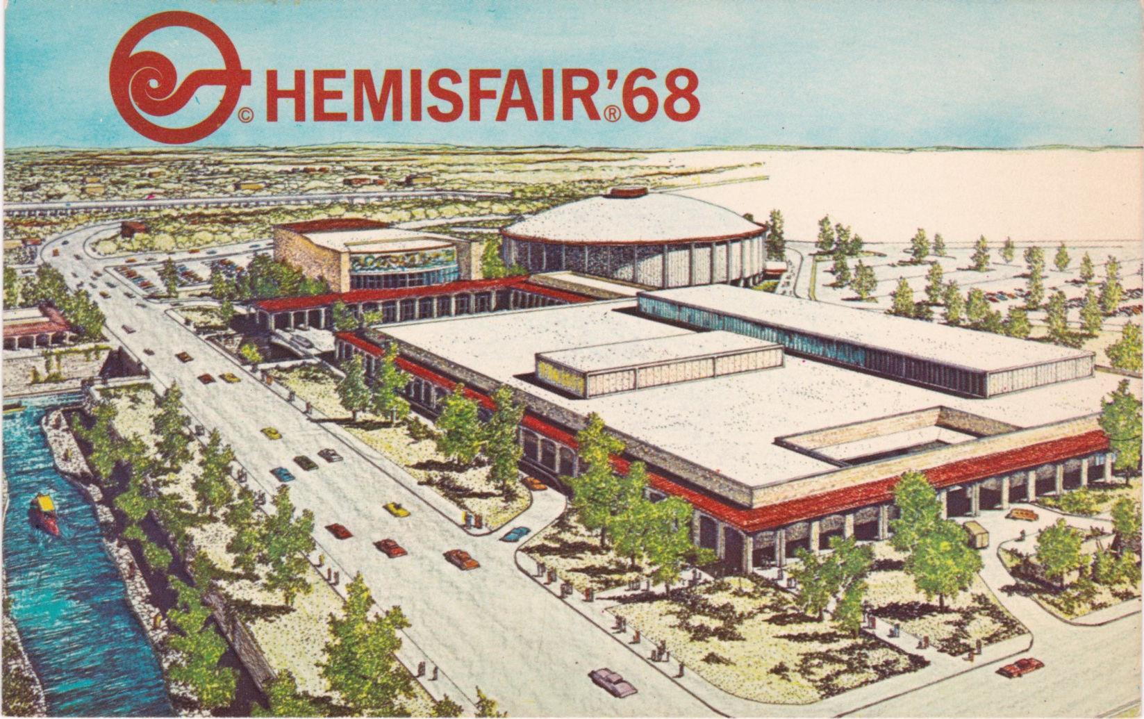Hemisfair 68 Postcards 1968 San Antonio United States