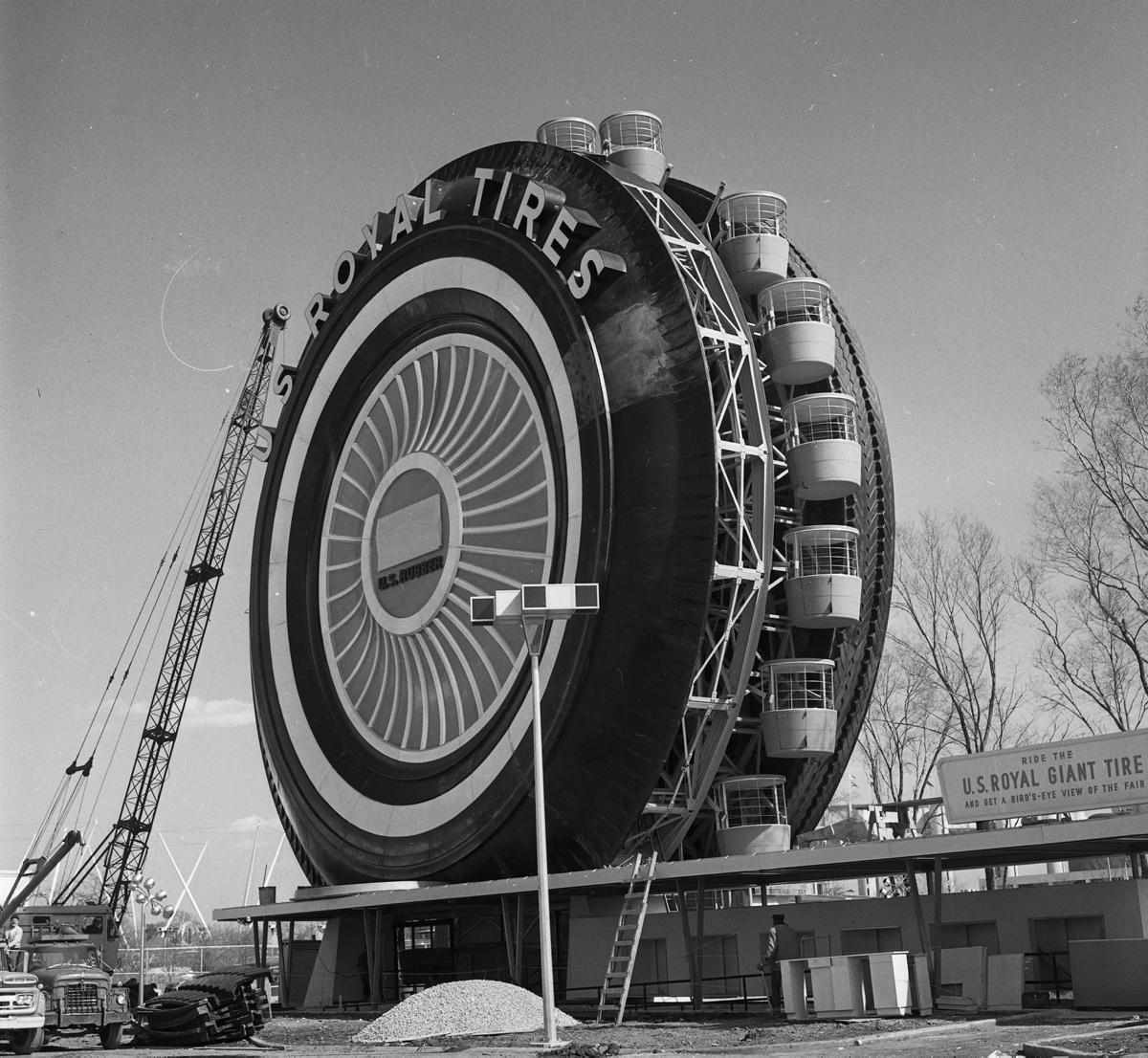 Giant Tire builder? - Building the 1964-65 New York World ...